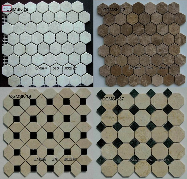 Hexagon-Marble-Mosaic-Tile