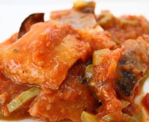 Рыба в томатном соусе рецепт с фото