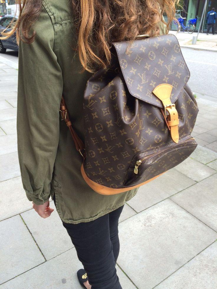 Fashion Revival - Der Rucksack ist endlich wieder da! <3 Louis Vuitton Montsouris