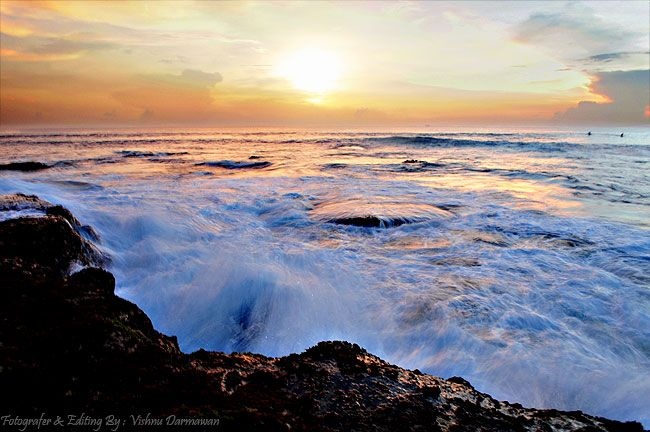 Vishnu Photographer: Slow Speed Ombak Di Tanah Lot Bali || Fotografer &...