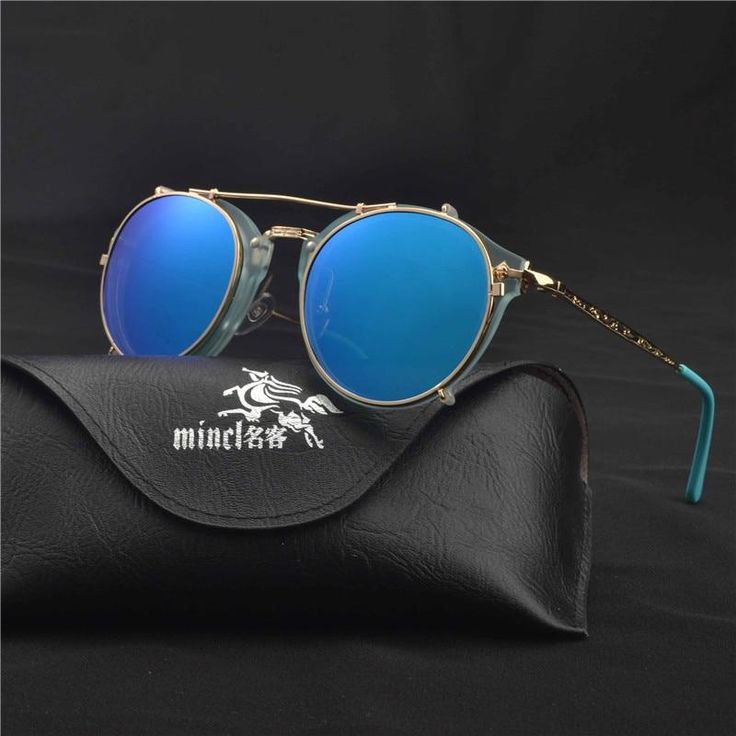 Optics Eyeglasses Frames Men Women With 1 Clip On punk Sunglasses 2019 hot Glasses Male Driving Spectacle Myopia FML – Babagala.net