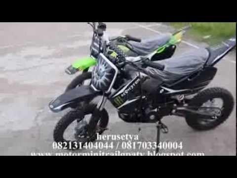 MOTOR TRAIL MINI 110 CC 082131404044 Rp 8.500.000 SURABAYA JAKARTA