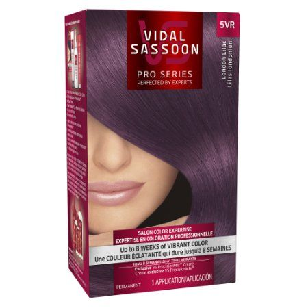 Amazon.com: Vidal Sassoon London Luxe 5vr London Lilac 1 Kit, 1.000-Kit: Beauty