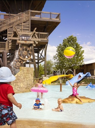 Kid Pool And Waterslides At Jw Marriott San Antonio