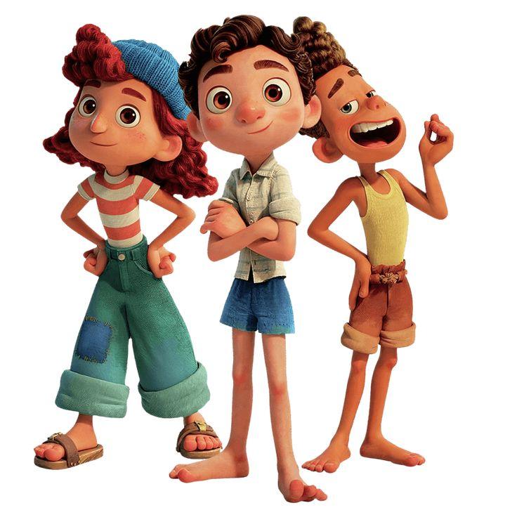 Personajes De Luca Disney Png El Taller De Hector En 2021 Disney Png Disney Imagenes Disney