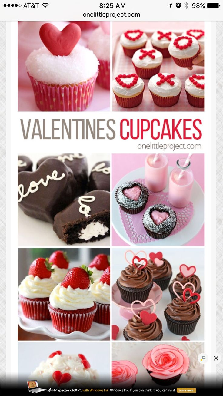 http://onelittleproject.com/valentines-day-cupcake-ideas/ #valentinesday #cupcakes #schoolparties https://www.cupcakewrappers.com/