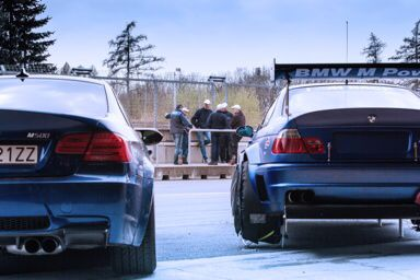 Petersport test day M3's