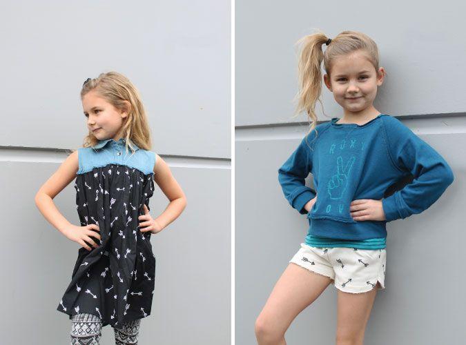 Little Girl's @billabong & @roxy outfits