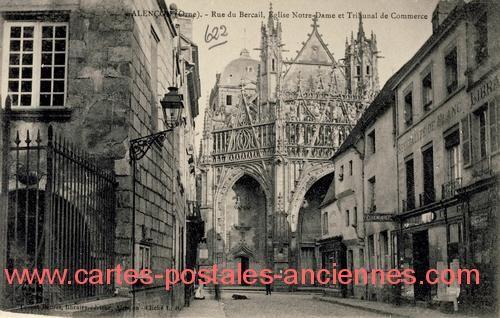 old Alencon, Orne, Basse-Normandie, France   ... France > Basse-Normandie > Orne > ALENCON > 61001_Alencon_ABC-x005