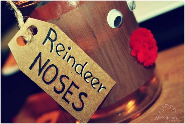 Vánoční dárky - Reindeer noses