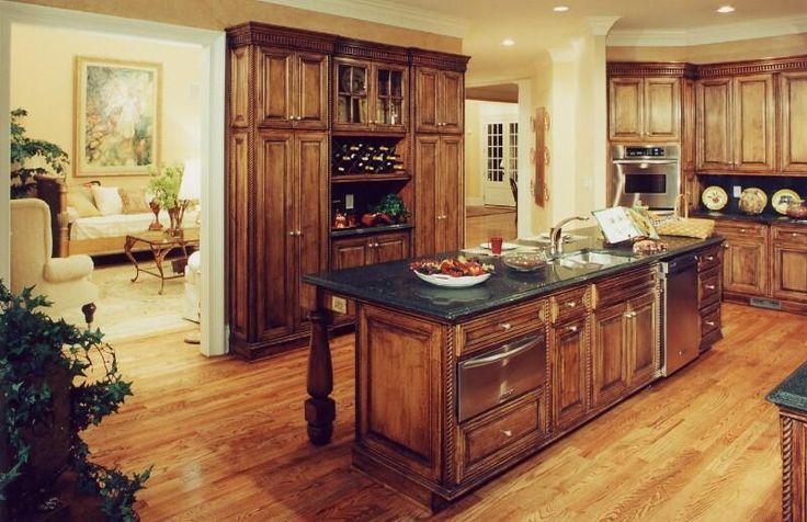 Small Kitchen Rustic