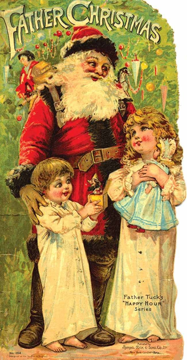 243 best Santa Wall Art images on Pinterest   Santa clause, Father ...