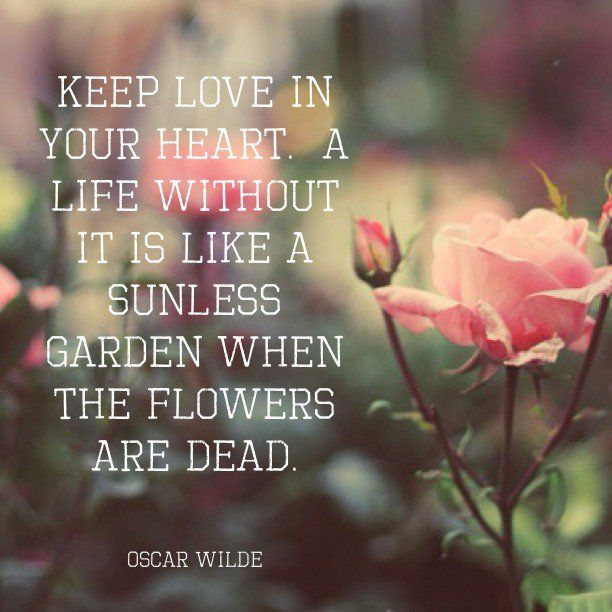 Quotes About Flowers Oscar Wilde : Best images about open hearted living on