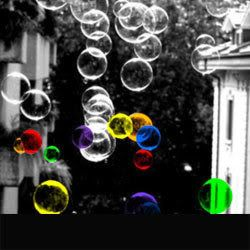 color splash bubbles  You can create your own selective color pics using Color Splash Studio for iPhone!