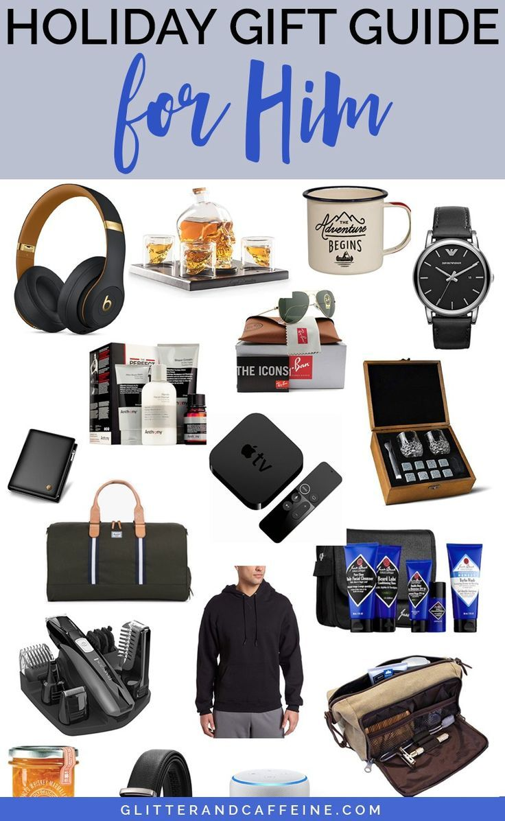 2018 Holiday Gift Guide With Images Diy Gifts For Him