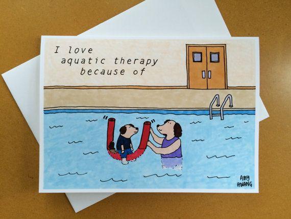 ... aquatic therapist thank you card 5x7 aquatic therapist thank you