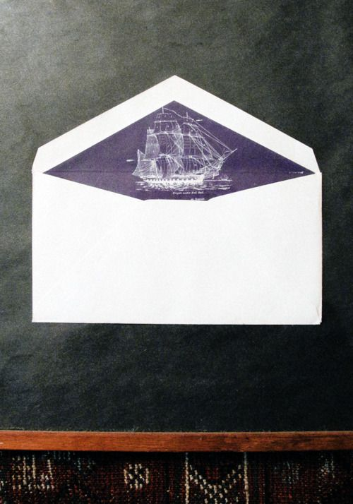 nautical envelope liner: Rhode Islands, Good Things, Envelopes Liner, Paper, A Letters, Ships, Writing Letters, Design, Stationery