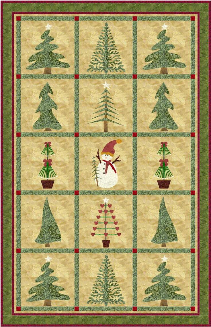 A beautiful #winter #quilt!