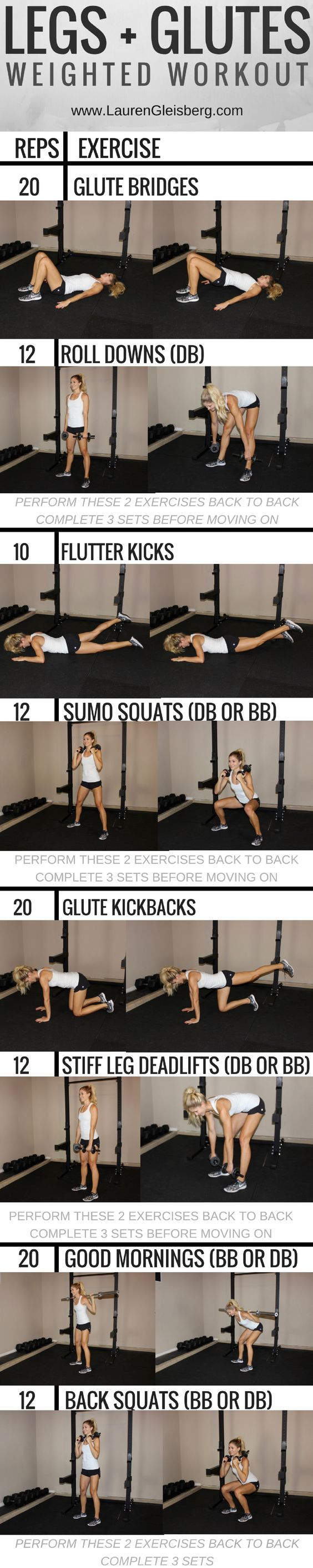 Legs  Glutes | Butt Workout - click for the full fitness program