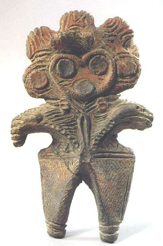 Late Jomon (1500–1000 B.C.) The climate began to cool, & populations migrated out of the mountains and settled closer to the coast. Greater reliance on seafood inspired innovations in deep-sea fishing techniques which brought communities into closer contact, as indicated by greater similarity among artifacts. Circular ceremonial sites of assembled stones, sometimes numbering in the thousands, and larger numbers of figurines show continued increase and importance in enactment of rituals.