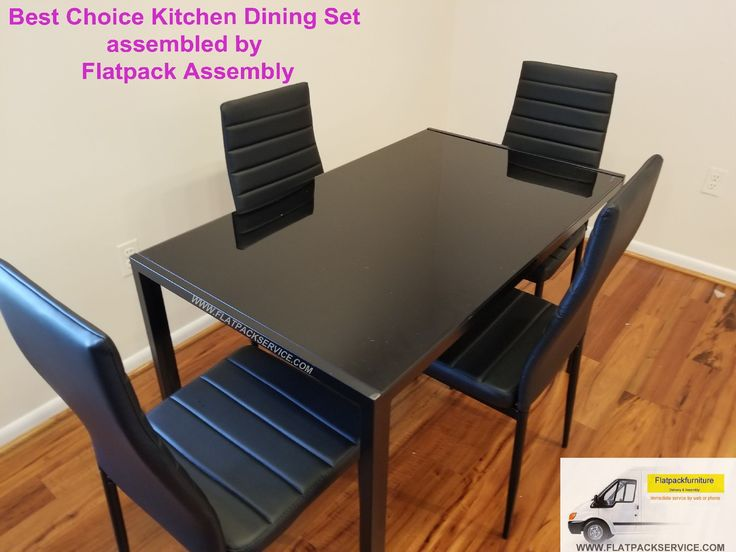 Overstock Best Choice Dining Set Model # SKY3059 Assembled By Flatpack 240  603 2781 53 Best Washington DC / Baltimore Amazon, IKEA, Overstock .