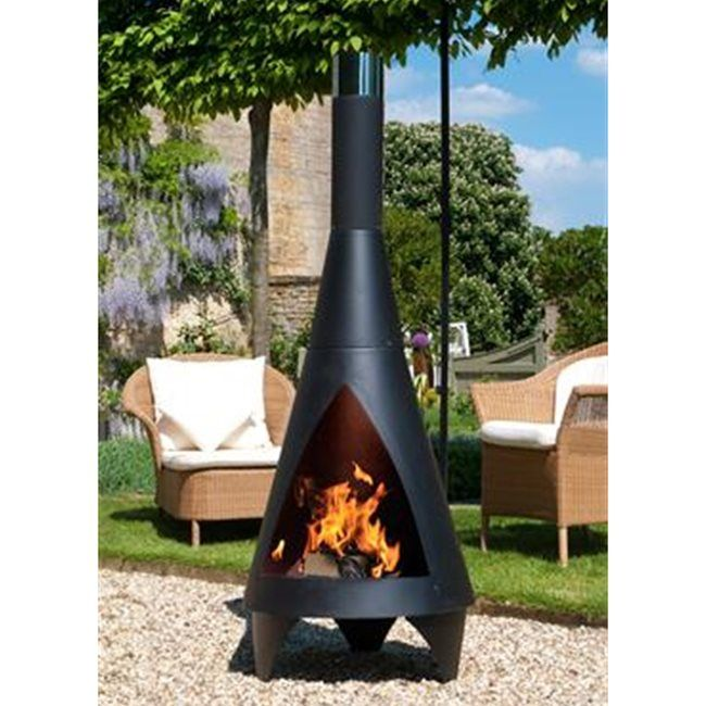 Chimineas - A stylish and modern way to bring heat and ambiance into your backyard.