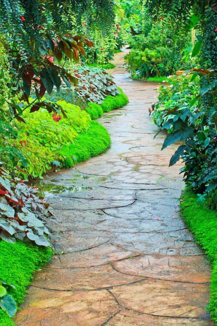 Garden Pathways 100+ [ design a garden path ] | 205 best garden path images on