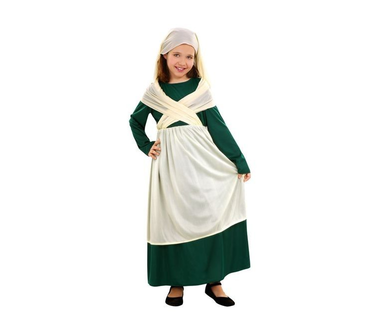 Disfraz frutera, artesana, mesonera o cualquier personaje del portal de belen en #sevilla www.martinfloressl.es