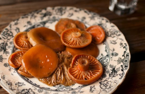 polish brinned mushrooms