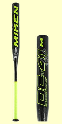 The 2017 Miken DC-41 SuperMax USSSA Slow Pitch Softball Bat (MDC41U) is one of the highest rated slowpitch softball bats in the industry. This model features a 14 inch barrel length and a full ounce end load for maximum performance. Check it out today over at JustBats!