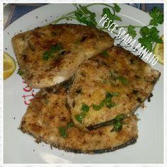 Sicilian breaded swordfish   Pesce spada panato alla siciliana   Una spia in Cucina