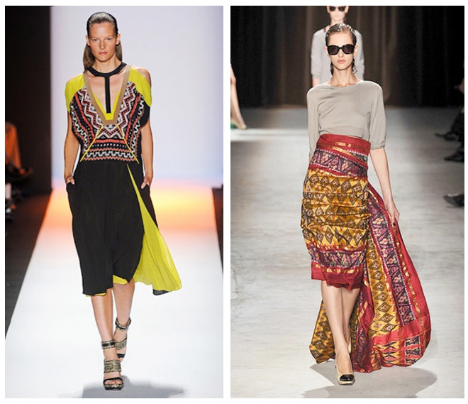 Tribal on the runway!