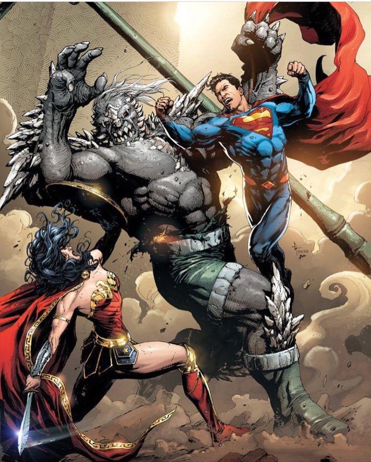 Wonder Woman & superman vs doomsday