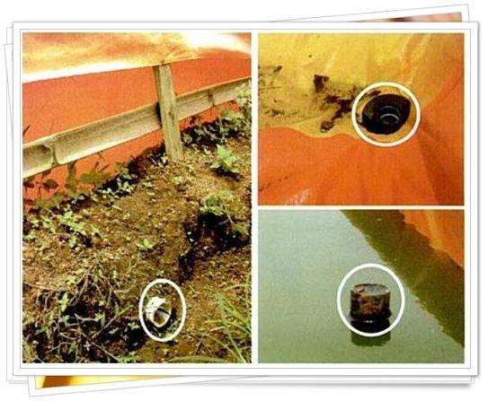 Bagi yang baru pertama membuat kolam terpal, mungkin bingung bagaimana cara membuat saluran pembuangan air.