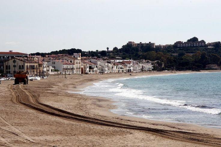 Playa Altafulla. (fuente: Diari de Tarragona)