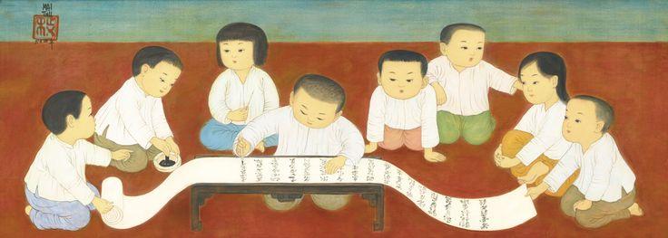 Mai Trung Thu (1906-1980) LA CALLIGRAPHIE (CALLIGRAPHY)