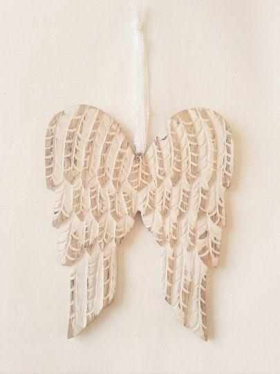 Huge Angel Wings Painted On Wall