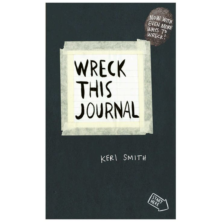 Think of Wreck This Journal as the anarchist's Artist's Way - the book for those who've always wanted to draw outside the lines but were afraid to do it. For anyone who's ever wished to, but had trouble starting, keeping, or finishing a journal or sketchbook comes Wreck This Journal, an illustrated book featuring a subversive collection of suggestions, asking readers to muster up their best mistake - and mess-making abilities to fill the pages of the book (and destroy them). T...