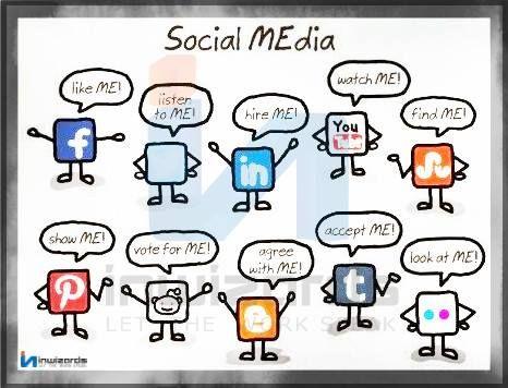 The True Faces of #SocialMedia