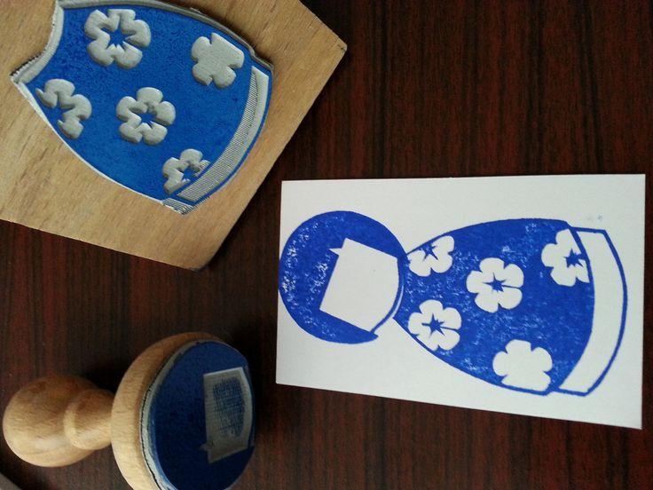 tampon poupée traditionnelle japonaise ningyō