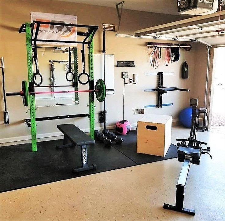 42 The Best Garage Ideas For Small Space That You Can Try In Your Home Interi Home Gym Style Gym Room At Home Gym Room Home Gyms Ideas