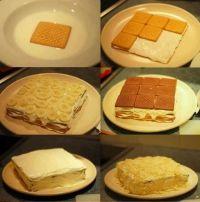 Gâteau courant d'air au lait