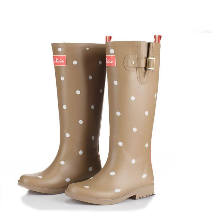 Polka Dot Rubber Rain Boots - Wellies  - Polka Dotted All The Things Boutique - SHOP NOW
