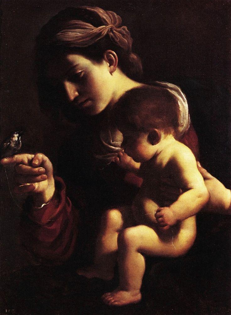 Guercino, Madonna con Bambino