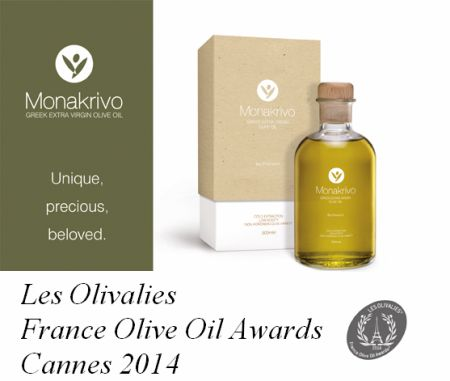 Les Olivalies  France Olive Oil Awards 2014 Cannes 2014