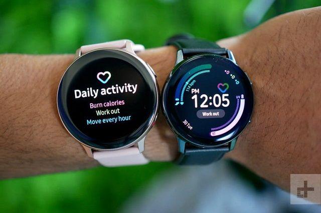 Samsung Galaxy Watch Active 2 Versus Apple Watch Series 4 Specs Examination Samsung Fitbit Smart Watch Samsung Galaxy