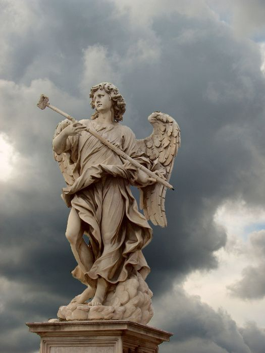 Angel statues statue photo picture definition