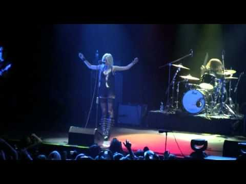 Тейлор Момсен (Taylor Momsen) в Москве 2011