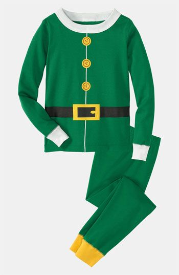 awwww....so cute! Elf Pajamas: