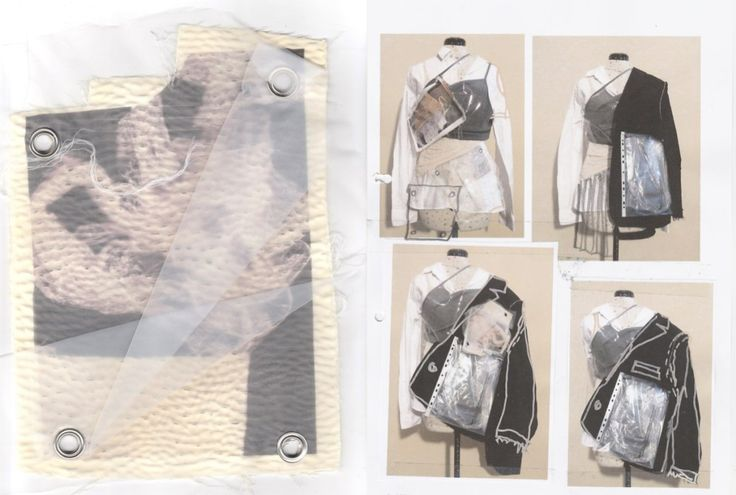 Fashion Sketchbook - draping development; fashion design process; fashion portfolio // Vy Cutting